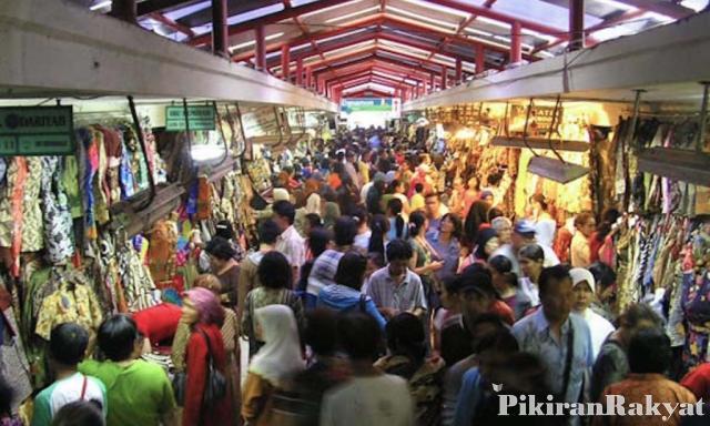 Musim Mudik Pengunjung Pasar Beringharjo Melonjak Dua Lipat Padat Wilujeng
