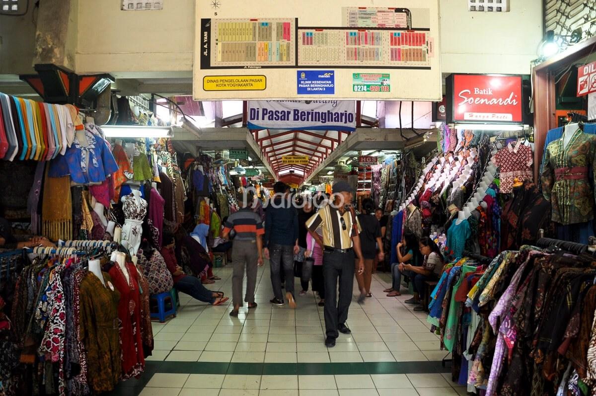 Pasar Beringharjo Berburu Batik Aneka Barang Murah Pengunjung Bringharjo Kota