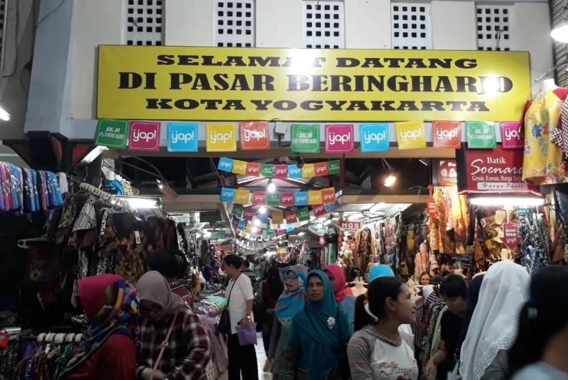 Pasar Beringharjo Buka Sampai Malam Jam Operasionalnya Peresmian Uji Coba