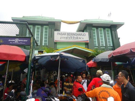 Pasar Beringharjo Picture Market Yogyakarta Bringharjo Kota