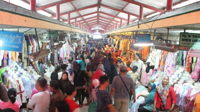 Pasar Beringharjo Ramai Pengunjung Libur Imlek Tribun Jogja Bringharjo Kota