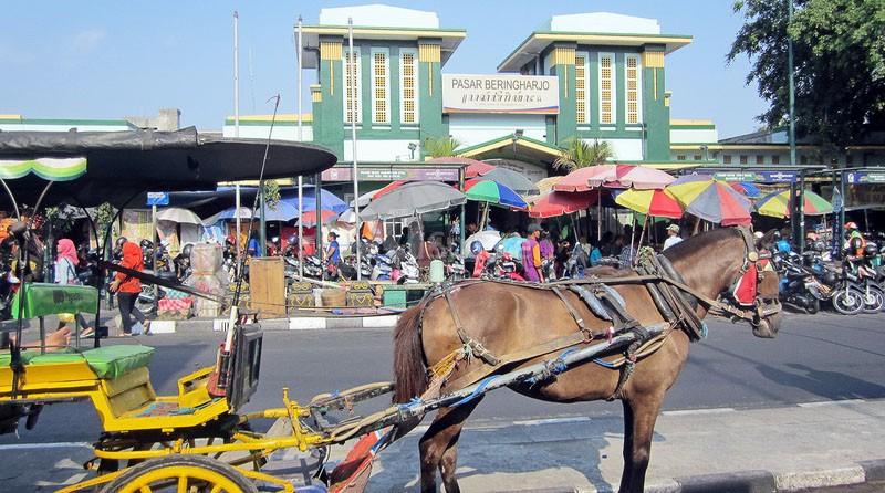 Pasar Beringharjo Yogyakarta Elita Transport Salah Satu Traditional Terkenal Kota