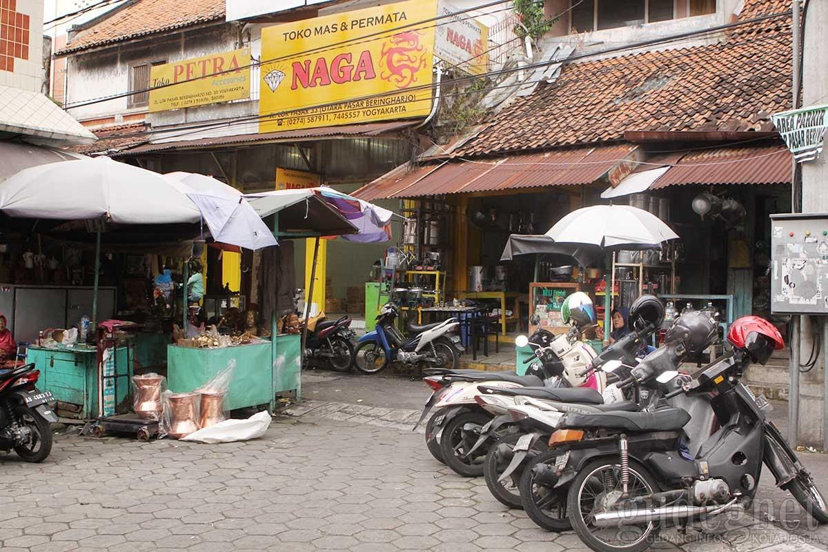 Pasar Beringharjo Yogyakarta Yogya Gudegnet Toko Jual Beli Emas Utara