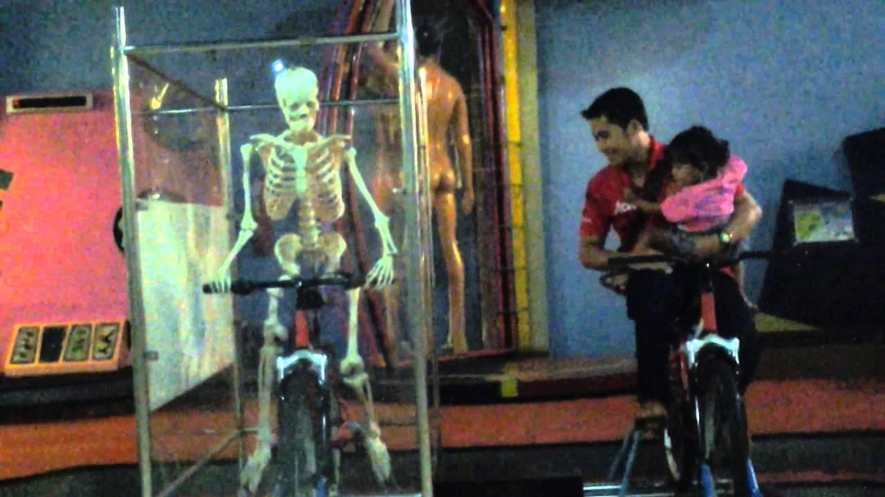 Penampakan Tengkorak Manusia Taman Pintar Yogyakarta Youtube Kota