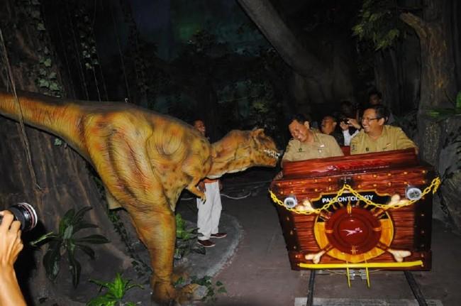 Peristiwa Taman Pintar Yogyakarta Ajak Pengunjung Bertemu Dinosaurus Kota