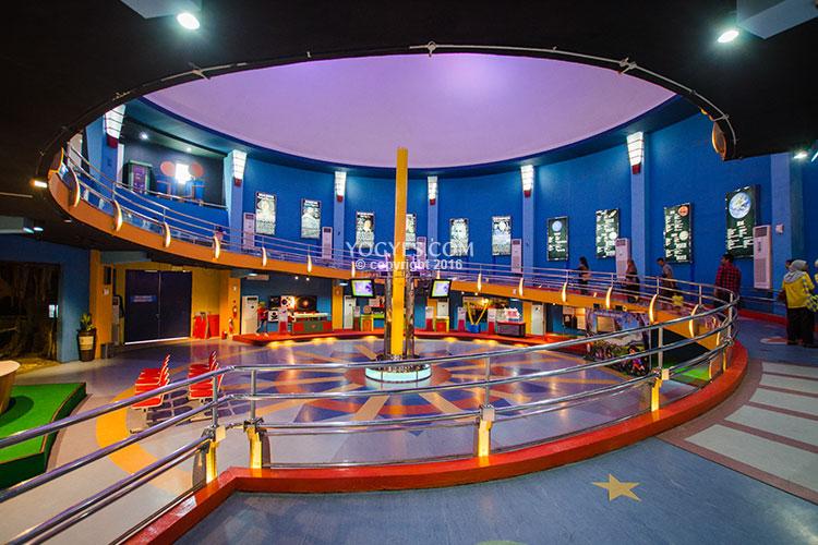 Taman Pintar Science Park Whispering Parabolic Dishes Singing Wall Yogyakarta