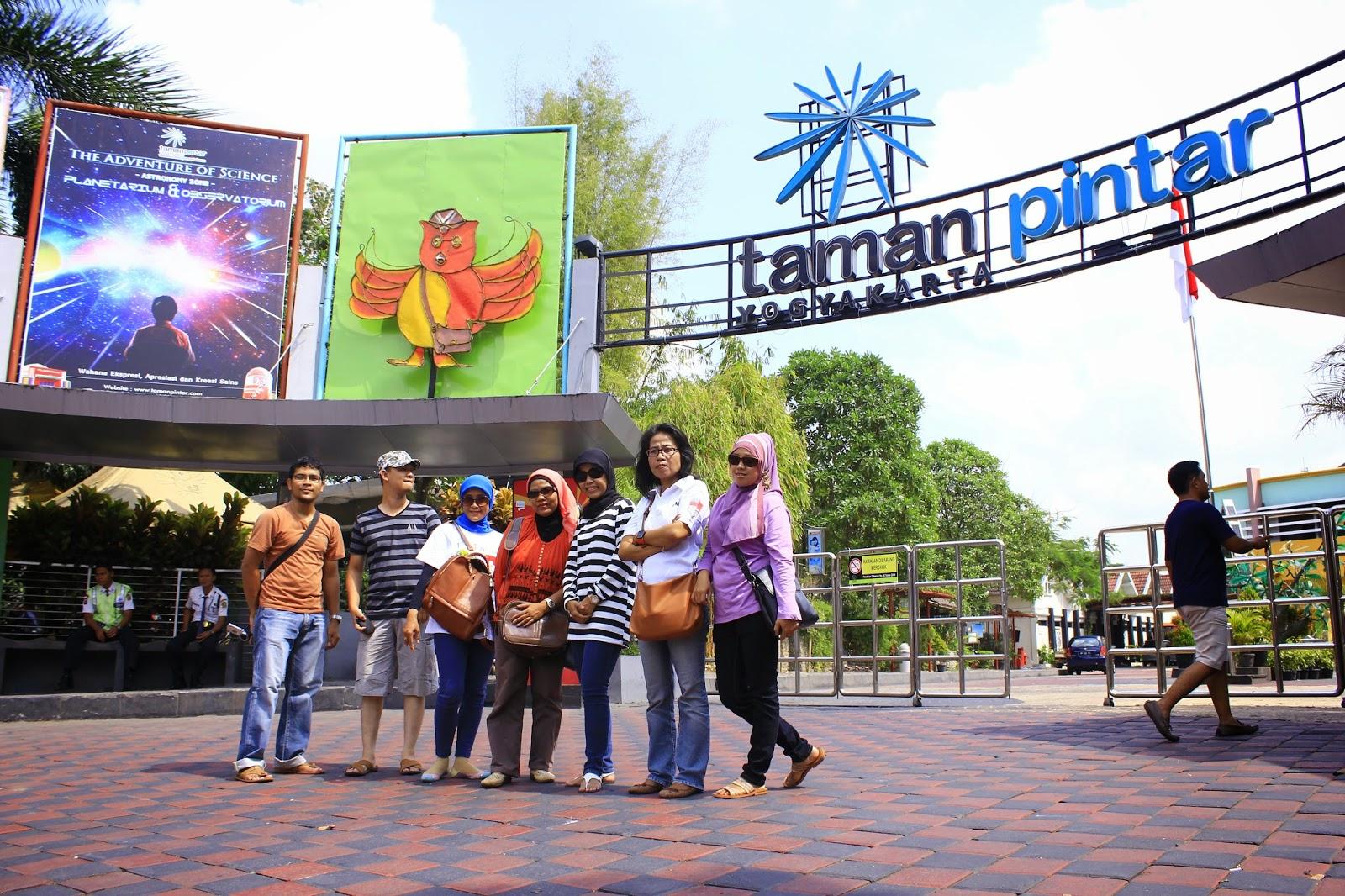 Taman Pintar Tempat Wisata Edukasi Yogyakarta Pulau Kota
