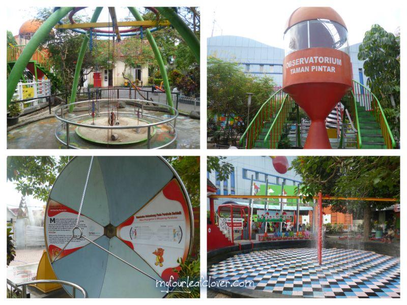 Taman Pintar Yogyakarta Fourleafclover Sistem Katrol Observatorium Parabola Berbisik Air