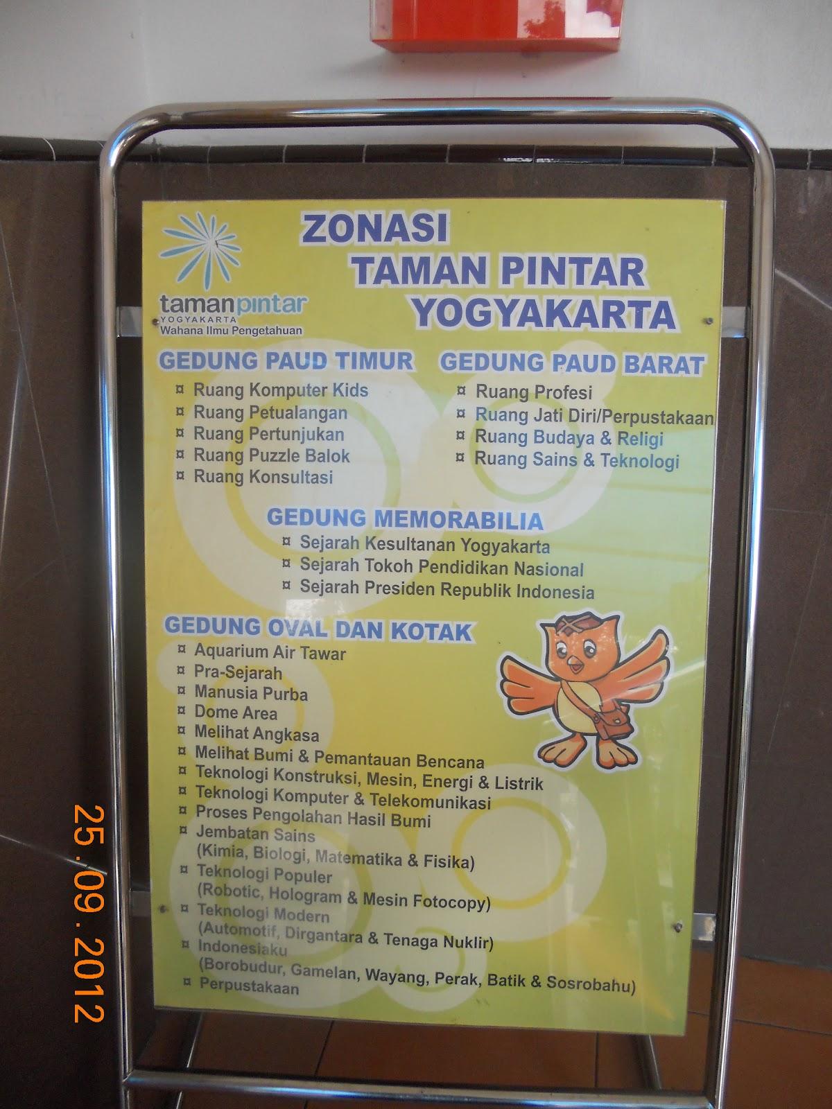 Taman Pintar Yogyakarta Moving Nah Daftar Zona Dibagi Gedung Masuki