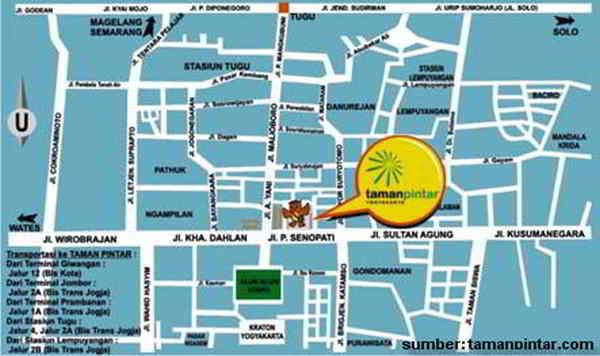 Taman Pintar Yogyakarta Wisata Nakal Lokasi Kota
