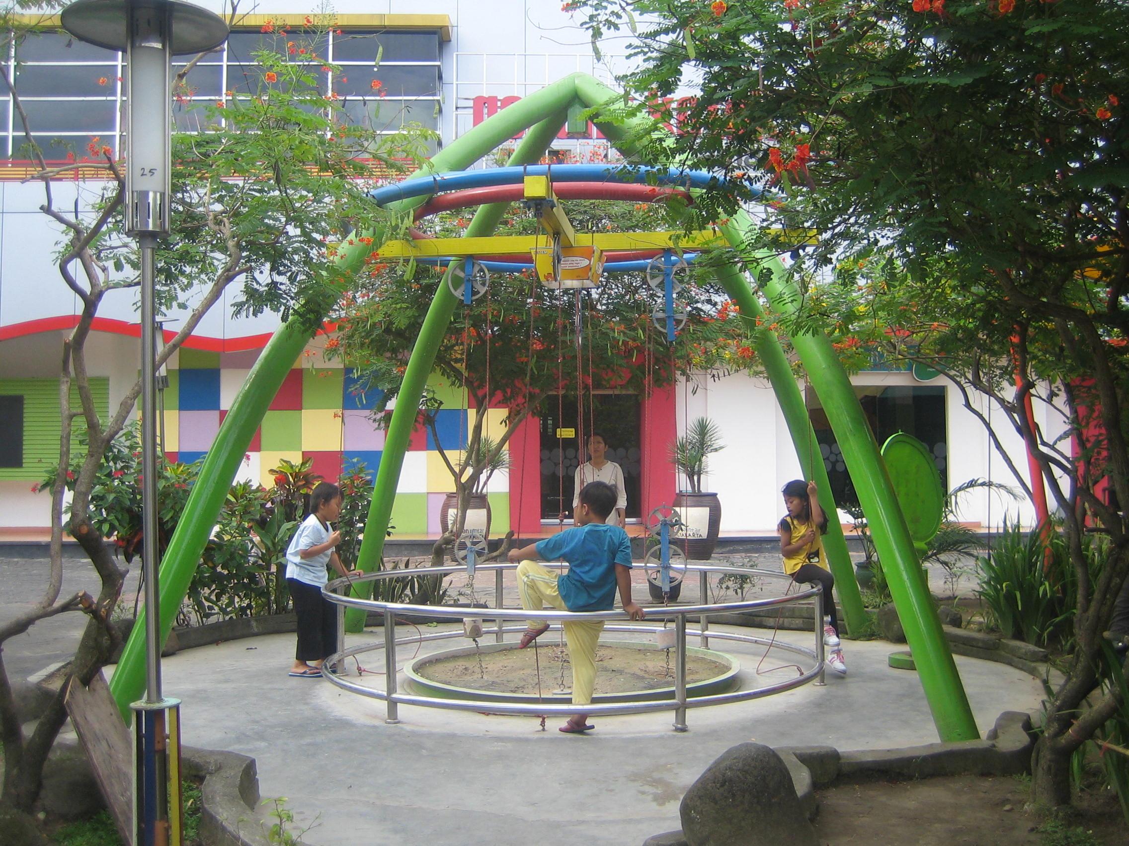Wisata Taman Pintar Sewa Mobil Online Jogja Zona Permainan Yogyakarta