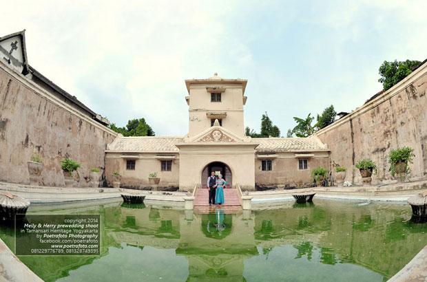 Taman Sari Water Castle 10 Pre Wedding Locations Jogja Yogyakarta