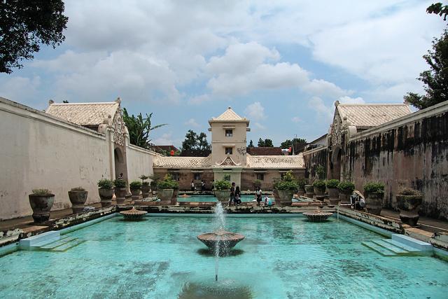 Taman Sari Water Castle Yogyakarta Tour Travel Tamansari Java Indonesia