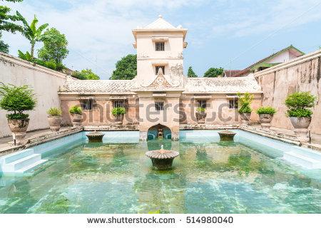 Taman Sari Water Palace Yogyakarta Stock Photo Royalty Free Java