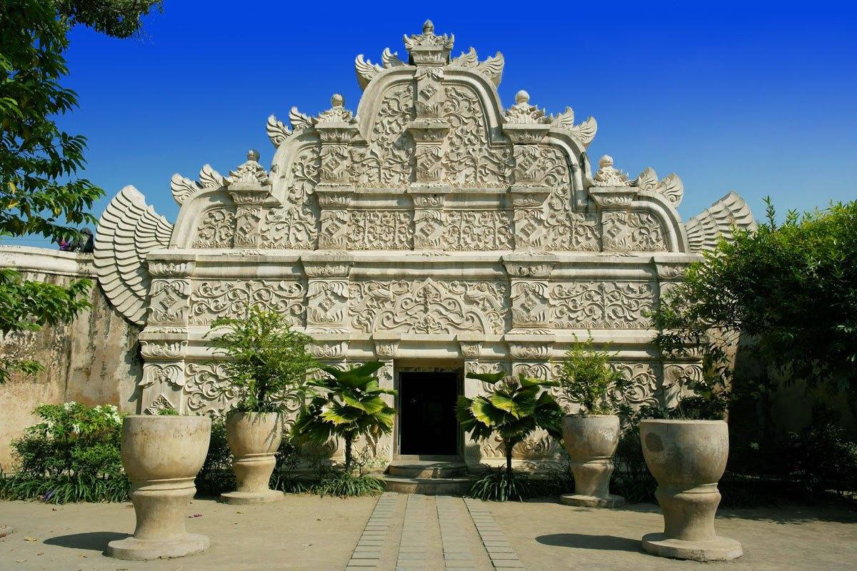 Taman Sari Yogyakarta Water Castle Places Interest Entrance Gateway Kota