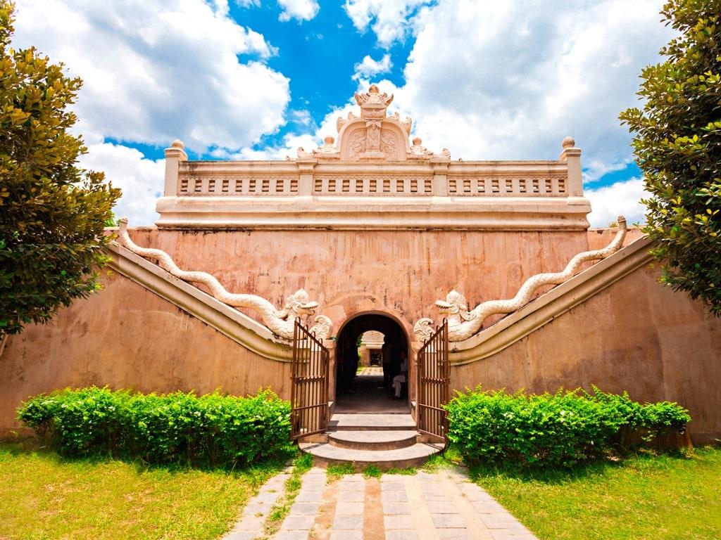 Tamansari Water Castle Western Style Building Unique Escape Royal Family