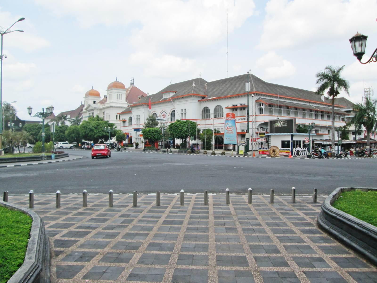 Jogja Nol Kilometer Titik Pesona Kota Yogyakarta Wisata Sebuah Km