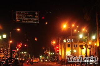 Menikmati Malam Kawasan Nol Kilometer Yogyakarta Teamtouring Hari Menjelang Sore