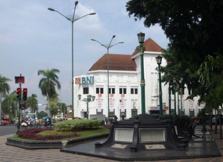 Nol Kilometer Titik Pusat Kota Yogyakarta Wisata Kawasan Km Jogja