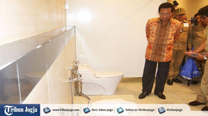 Penetapan Tarif Khusus Toilet Underground Titik Nol Kilometer Yogya Km