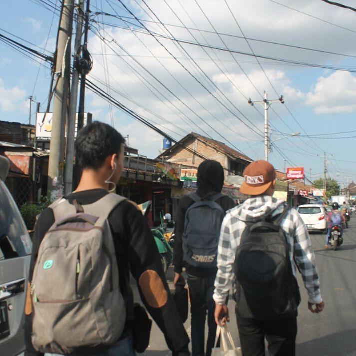 Titik Nol Kilometer Jogja Ya Perempatan Jalan Doang Berada Kantor