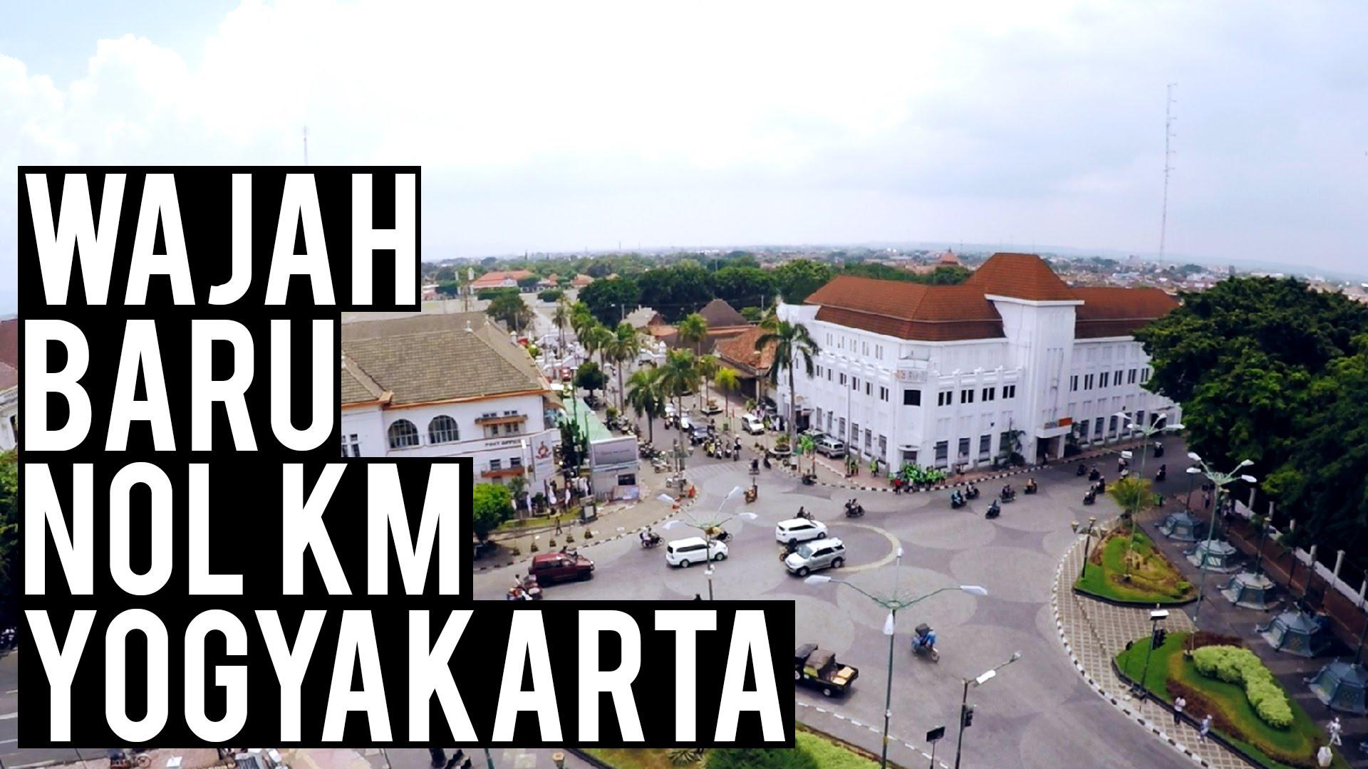 Wajah Nol Km Jogja Youtube Titik Kota Yogyakarta