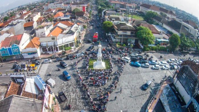 Diorama Tugu Diresmikan September Tribun Jogja Yogyakarta Kota