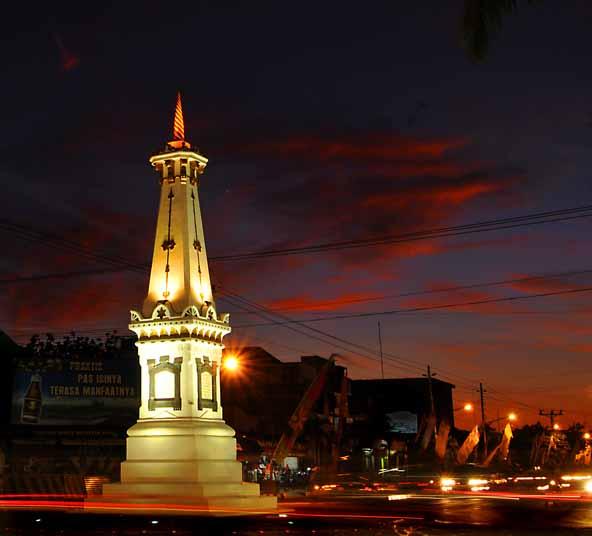 Hotel Poncowinatan Tugu Dekat Landmark Kota Yogyakarta
