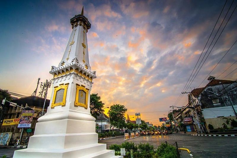 Tugu Jogja Ikon Kota Yogyakarta Bersejarah Eksotis