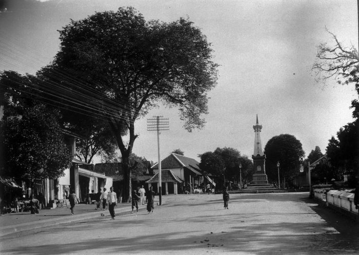 Tugu Yogyakarta Wikipedia Bahasa Indonesia Ensiklopedia Bebas Sekitar 1920 Kota