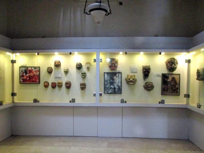 Berwisata Museum Sonobudoyo Yogyakarta Topeng Unit Galeri Kota