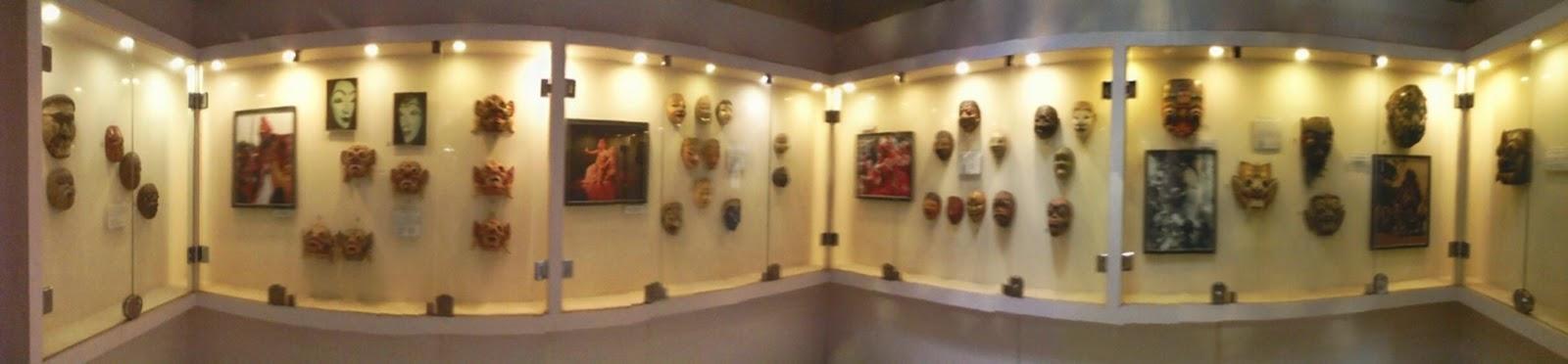 Koleksi Topeng Jpg Museum Mempunyai Sebuah Bahan Baku Pembuatan Keris