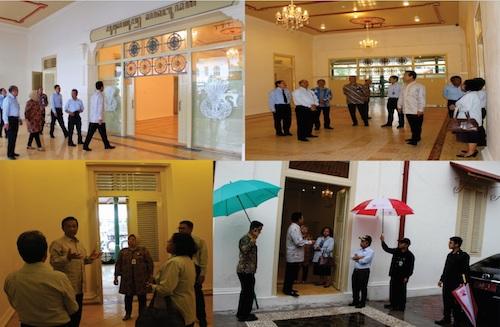 Kunjungan Gubernur Diy Museum Sonobudoyo Alt Text 28 November 2016
