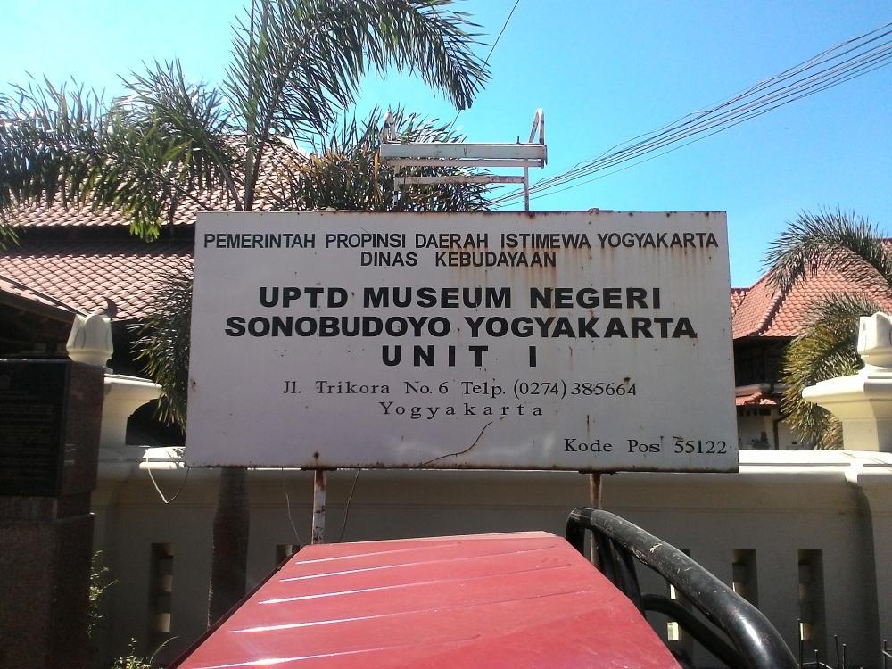 Museum Sonobudoyo Unit Jogja Budaya 2 Galeri Kota Yogyakarta