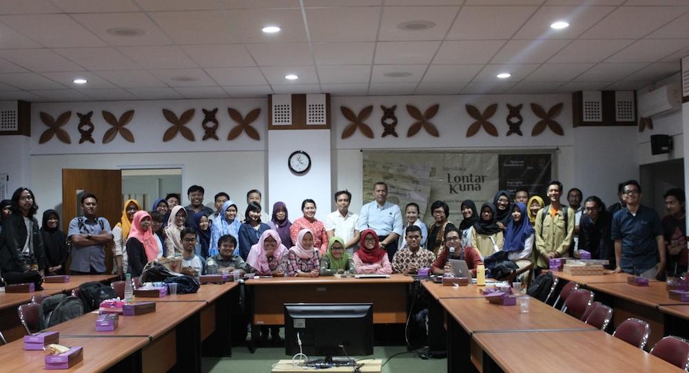 Museum Sonobudoyo Yogyakarta Membaca Lontar Kuna Unit Galeri Kota