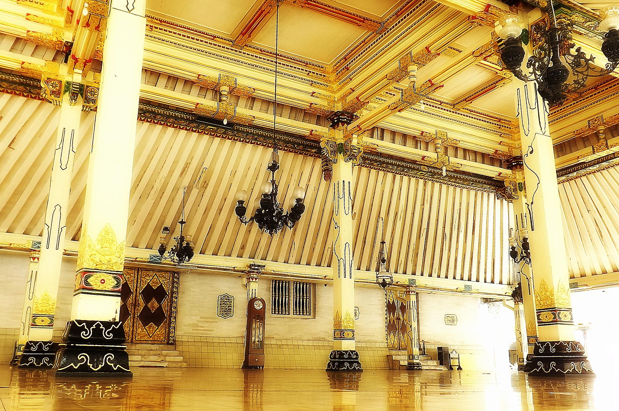 Kauman Dulu Nanti Komunitas Blusukan Kampoeng Jogja Serambi Masjid Gede
