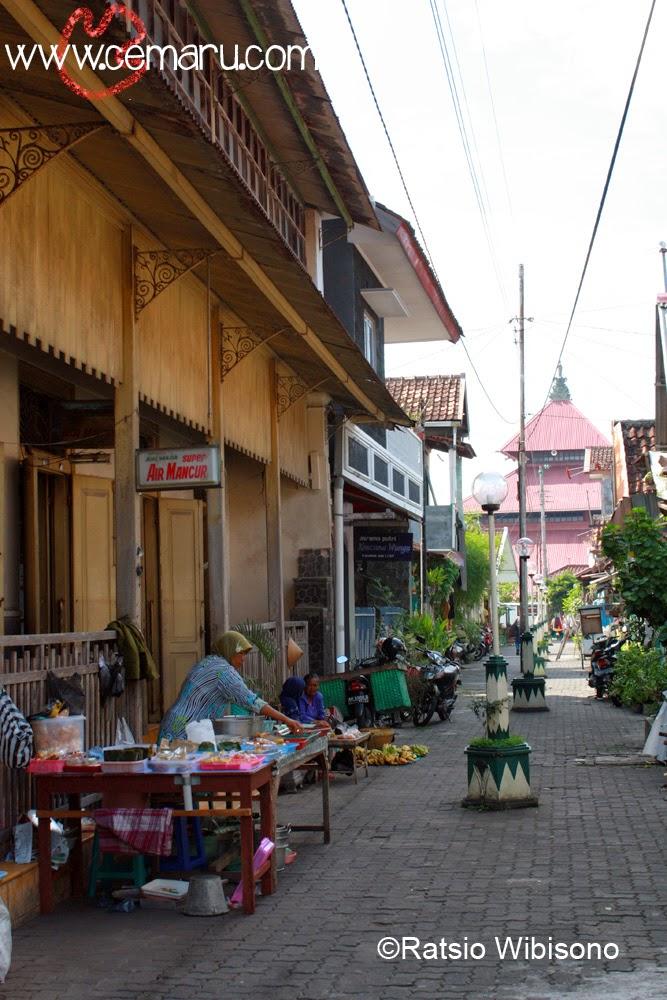 Keliling Yogyakarta Kampung Kauman Cemaru Setelah Menit Berjalan Sampai Ujung