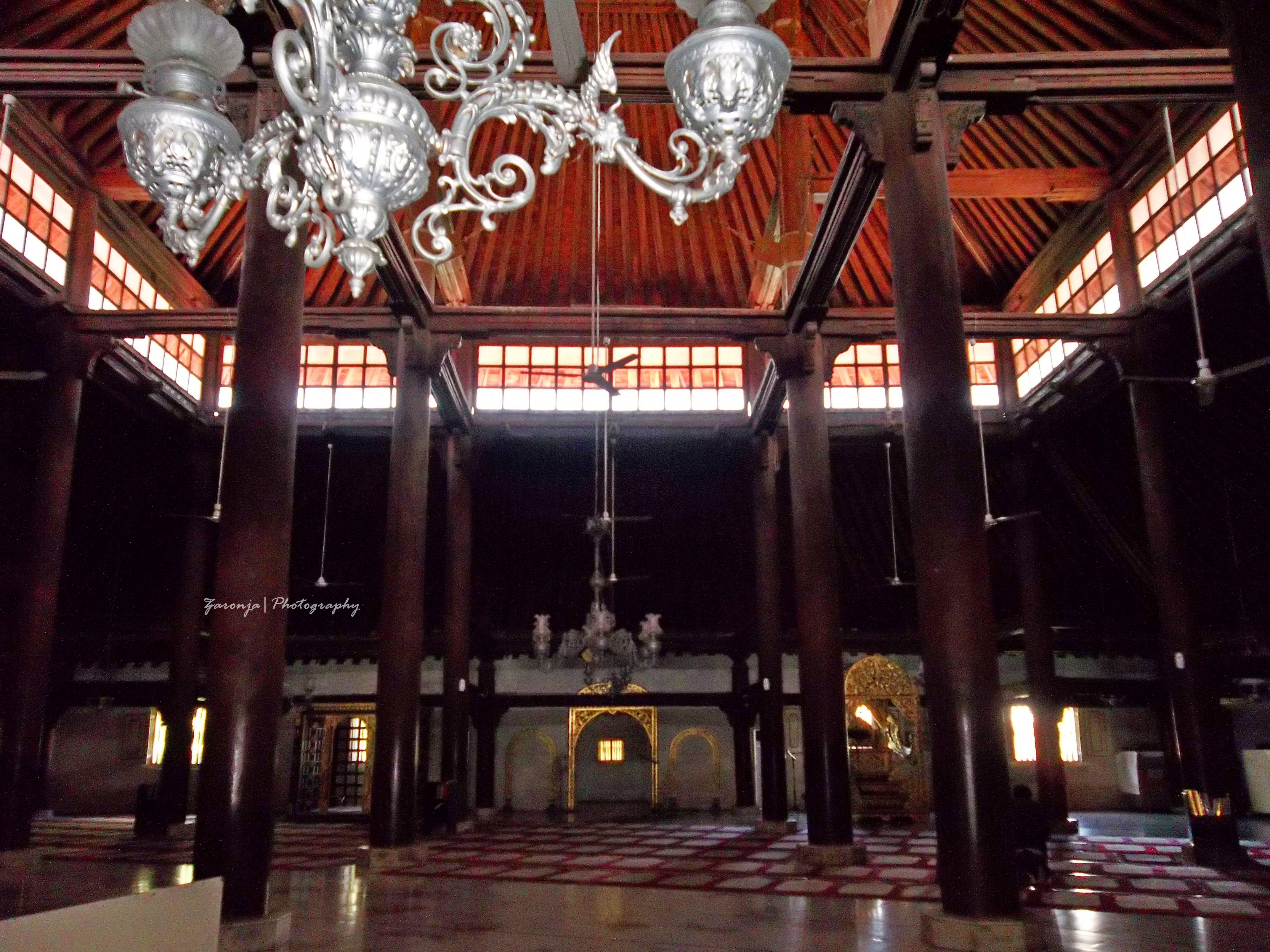 Masjid Gedhe Kauman Yogyakarta Zaronja Berkelana Wisata Kampung Kota