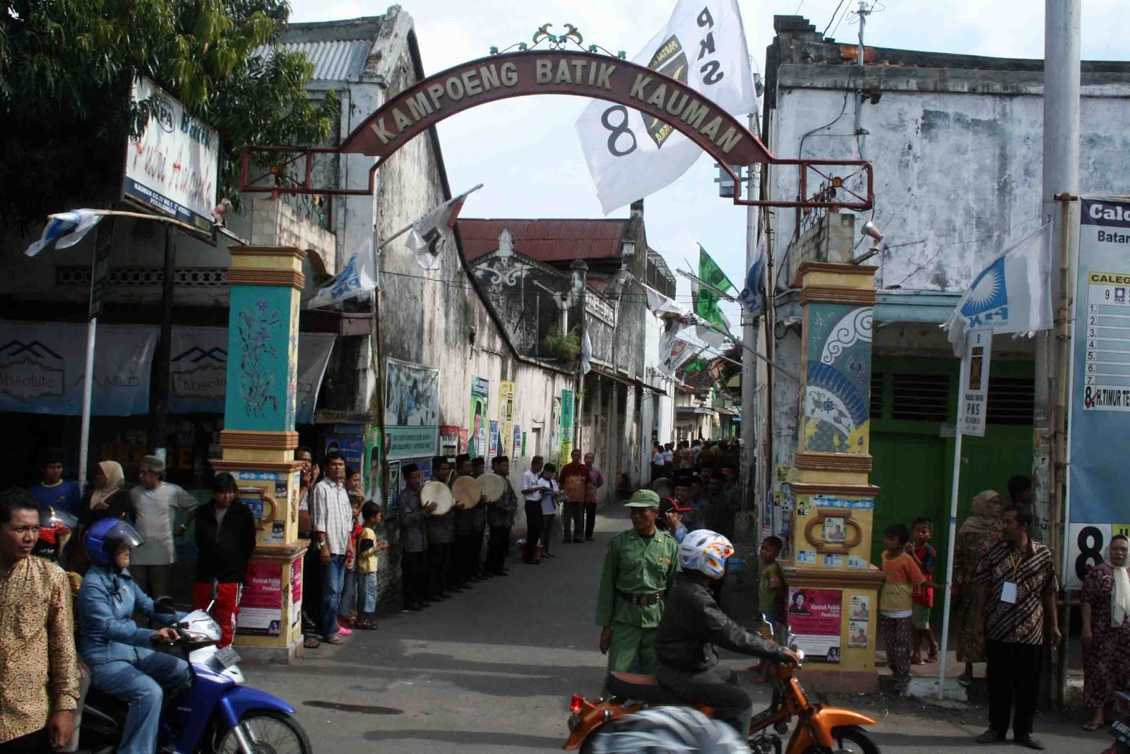 Wisata Belanja Kampoeng Batik Kauman Pekalongan Kampung Yogyakarta Kota
