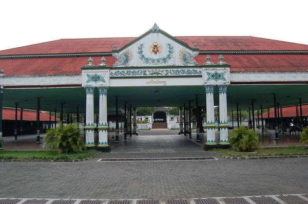 Keraton Kasultanan Sultan Wisata Yogyakarta Warisan Kerajaan Mataram Islam Kota