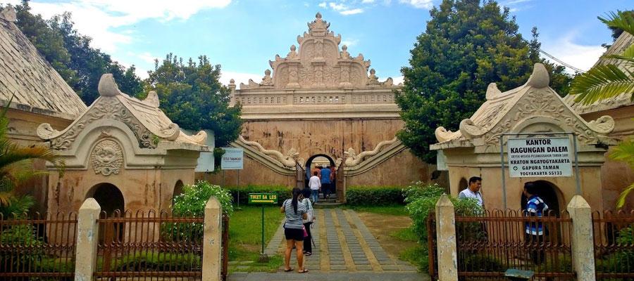Keraton Yogyakarta Istana Budaya Indonesia Wisata Kota