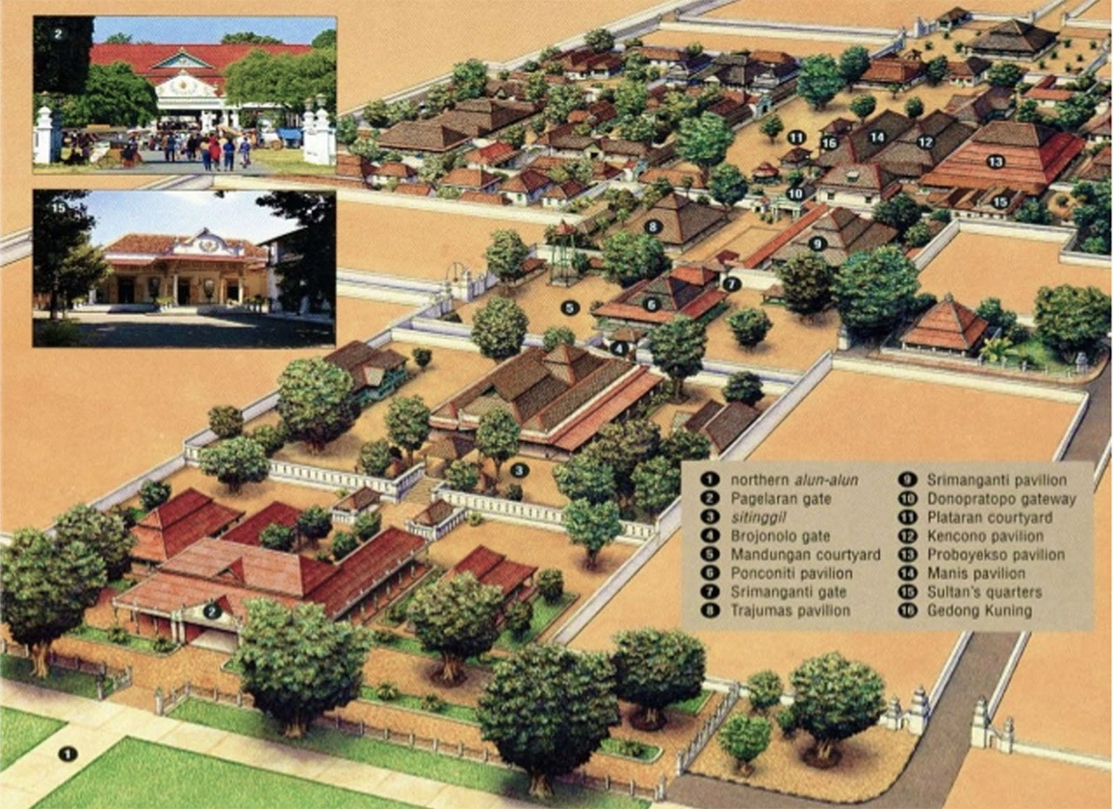 Kompleks Keraton Jogjakarta Destinasi Wisata Domestik Denah Yogyakarta Kota